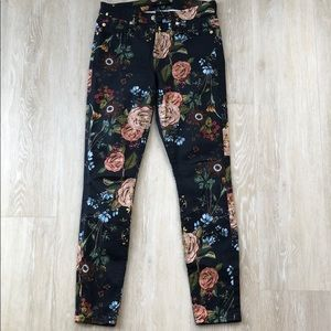 7 for all man kind floral jean